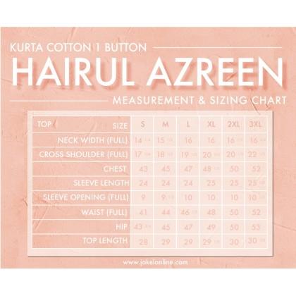 KURTA TELUK BELANGA HAIRUL AZREEN 1 BUTTON (0079) IN YELLOW